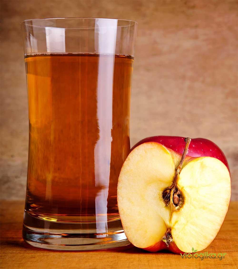 Φρεσκοστυμμένος φυσικός χυμός φρούτων και λαχανικών, πάντα με μέτρο