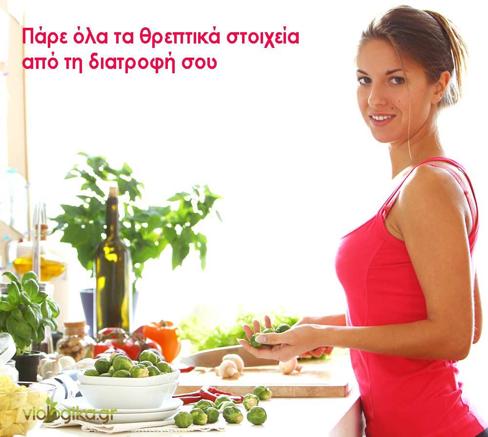 Λήψη θρεπτικών στοιχείων μέσω της διατροφής
