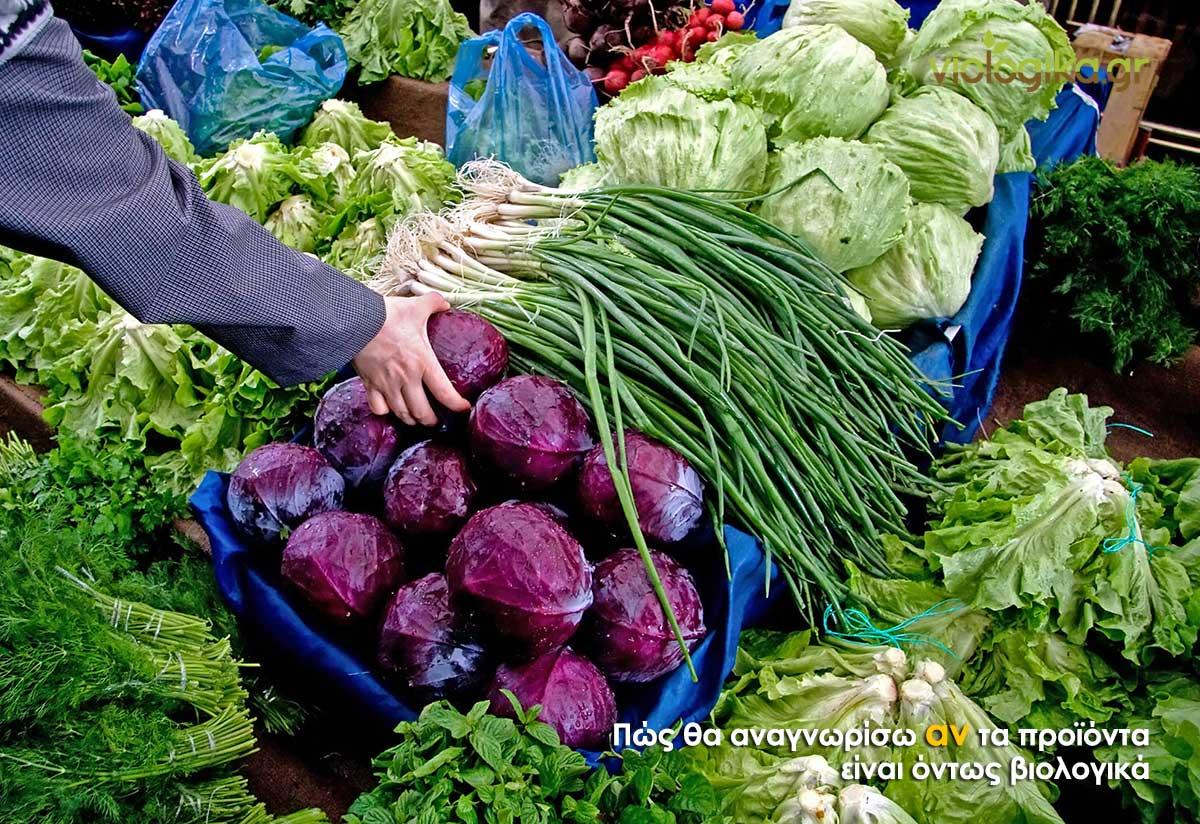 Η αγορά των βιολογικών προϊόντων