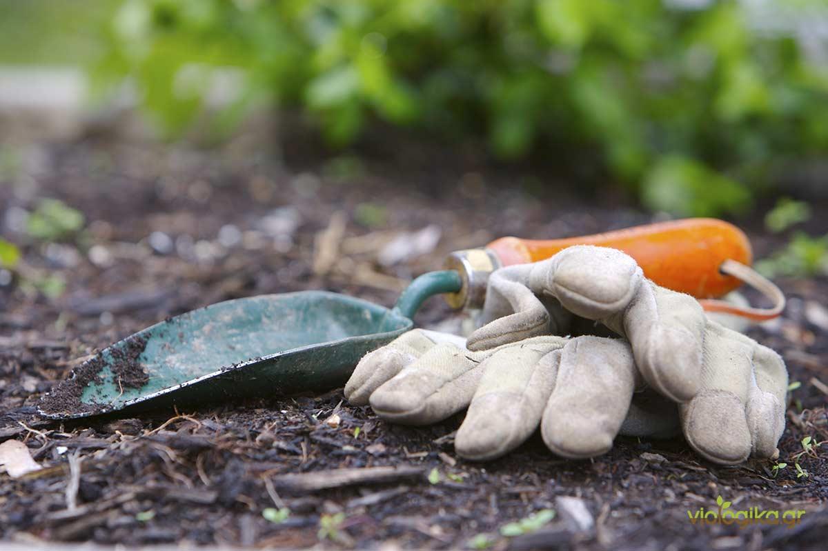 Βασικά Εργαλεία κήπου