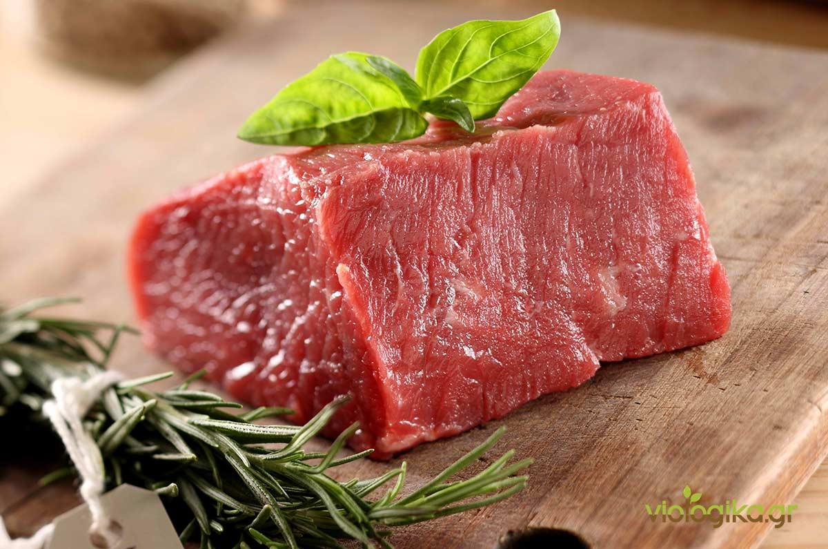 6e2bbc30802 Βιολογικό κρέας, Ελληνικό βιολογικό κρέας