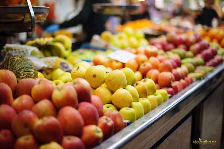 Φρούτα συμβατικής καλλιέργειας
