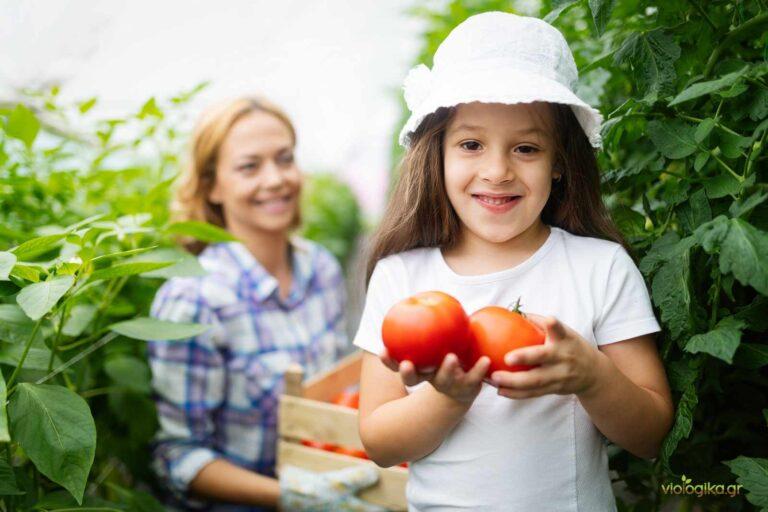 Βιολογικά τρόφιμα για όλη την οικογένεια