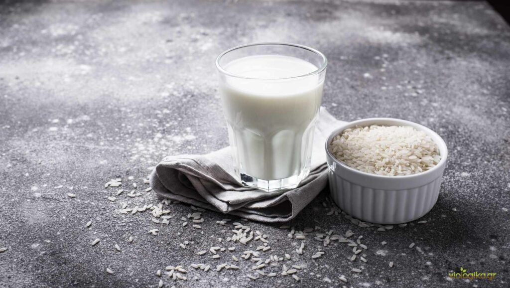 Βιολογικό γάλα ρυζιού