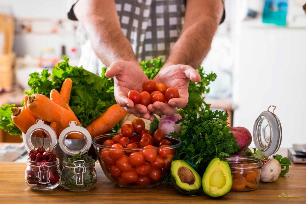 Τρώτε τα λαχανικά σας ωμά όσο συχνότερα μπορείτε