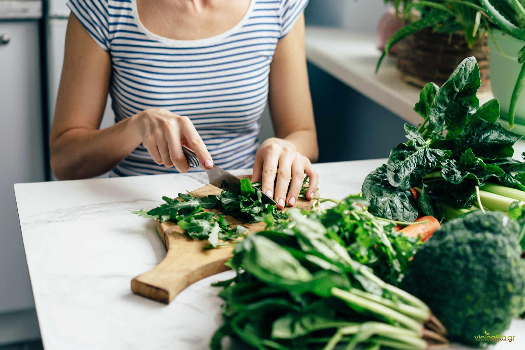 Συνταγές με βιολογικά προϊόντα